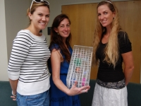 Teacher participants Shannon Carpenter, Jacqueline Keleman,  Meghan Parsons-Field.
