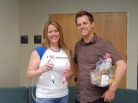 Photo of participant teachers Bria Pagliaro and Daniel Barnett.