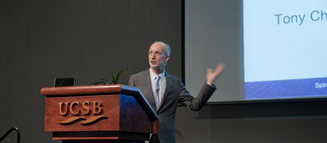 Stuart Parkin - 2011 Cheetham Lecturer