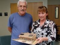 Photo of participant teachers Ken Paulsen and Debby West.