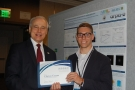 Photo with Jim Brodrick, DOE Solid-State Lighting Technology Manager